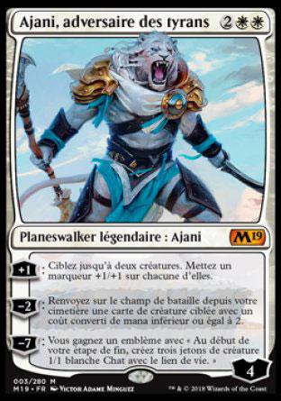 Ajani, adversaire des tyrans