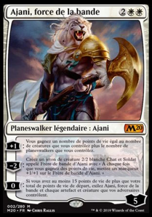 Ajani, force de la bande