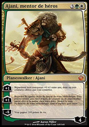 Ajani, mentor de héros