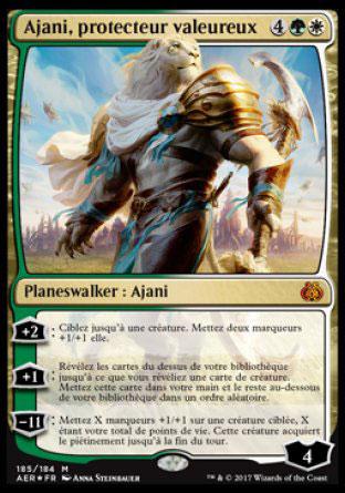 Ajani, protecteur valeureux