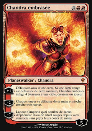 Chandra embrasée