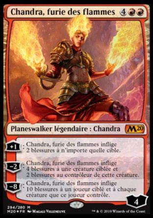 Chandra, furie des flammes