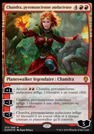Chandra, pyromancienne audacieuse