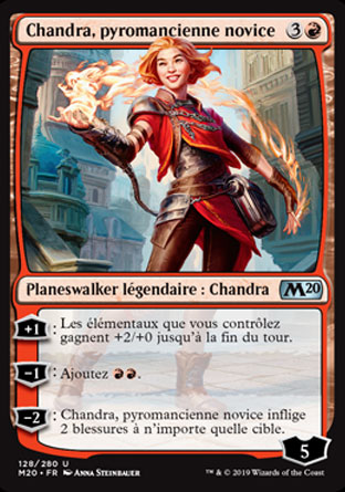 Chandra, pyromancienne novice