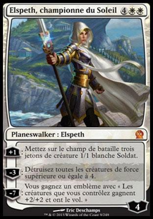 Elspeth, championne du Soleil