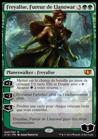 Freyalise, Fureur de Llanowar