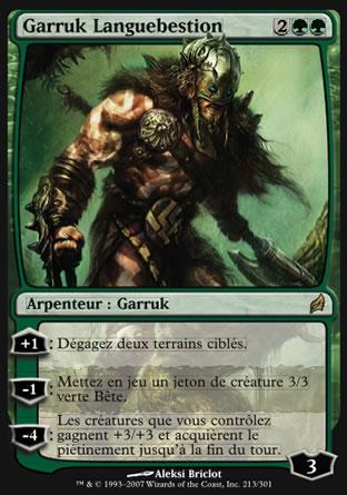 Garruk Languebestion