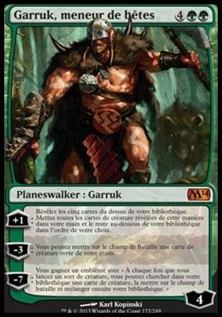 Garruk, meneur de bêtes