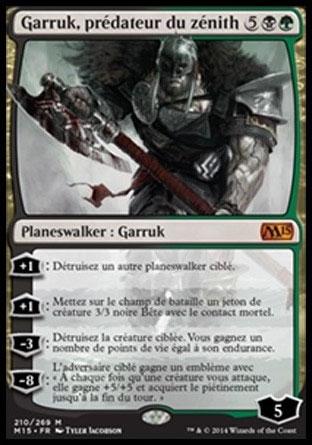 Garruk, prédateur du zénith