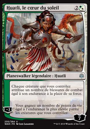Huatli, le cœur du soleil
