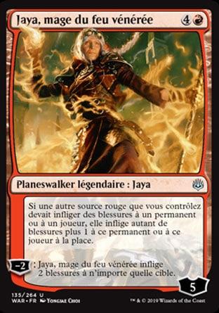 Jaya, mage du feu vénérée