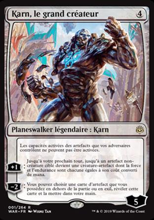 Karn, le grand créateur