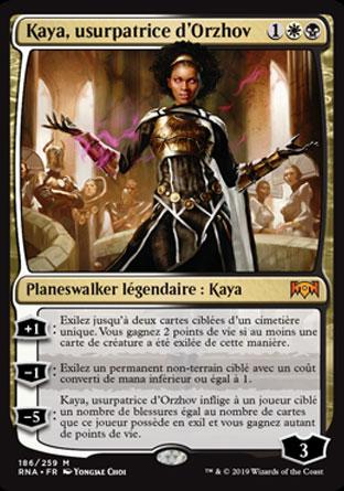 Kaya, usurpatrice d'Orzhov