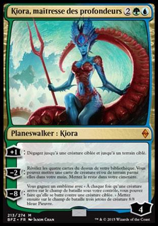 Kiora, maîtresse des profondeurs