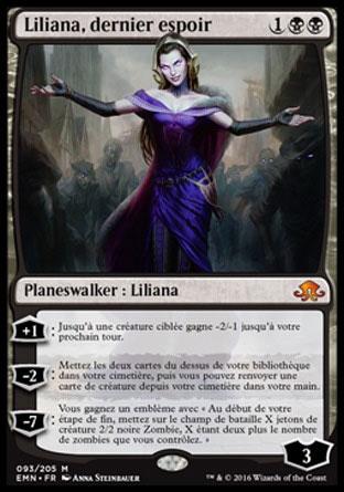 Liliana, dernier espoir