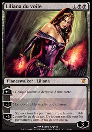 Liliana du voile