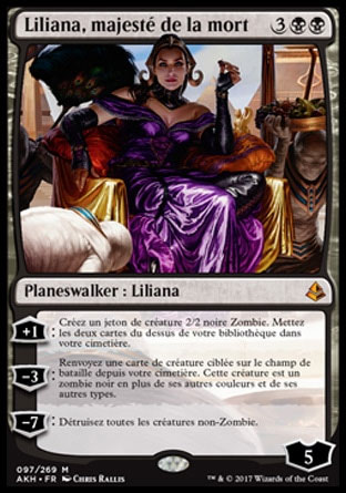 Liliana, majesté de la mort