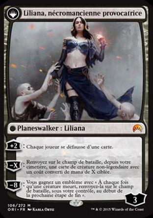 Liliana, nécromancienne provocatrice