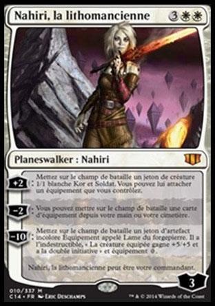 Nahiri, la lithomancienne