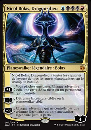 Nicol Bolas, Dragon-dieu