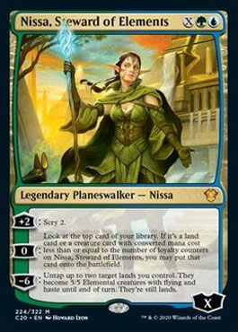 Nissa steward of elements