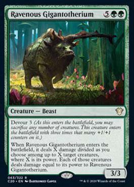 Ravenous gigantotherium