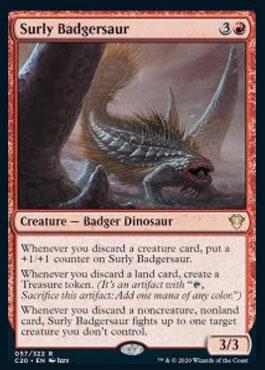 Surly badgersaur