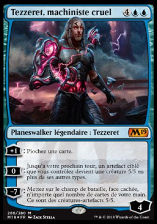 Tezzeret, machiniste cruel