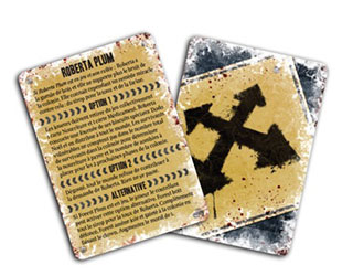 Carte croisée des chemins dead of winter