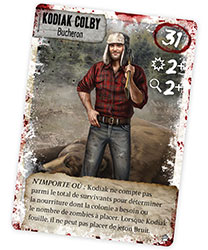 Carte survivant Dead of Winter
