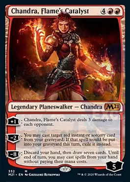 Chandra flame's catalyst