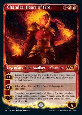 Chandra heart of fire