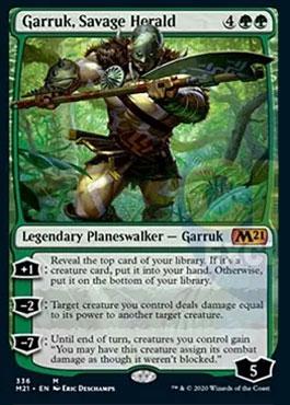 Garruk savage herald