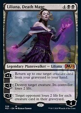Liliana death mage