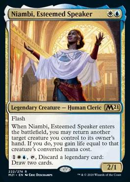 niambi esteemed speaker