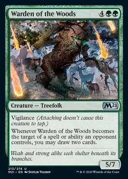 warden of the wood