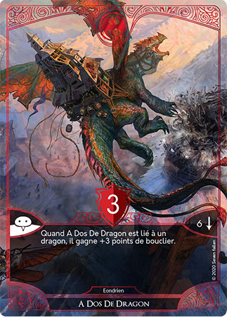 Carte Golem A dos de Dragon