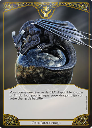 Carte Miracle orbe draconique