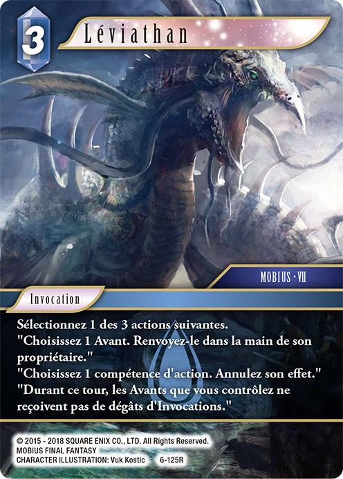 Carte invocation Leviathan