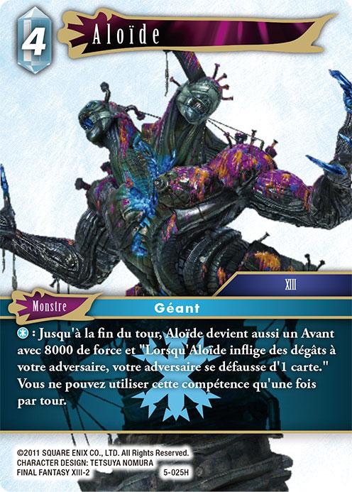 Carte monstre Aloïde