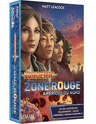 Pandemic Zone Rouge Amérique du Nord