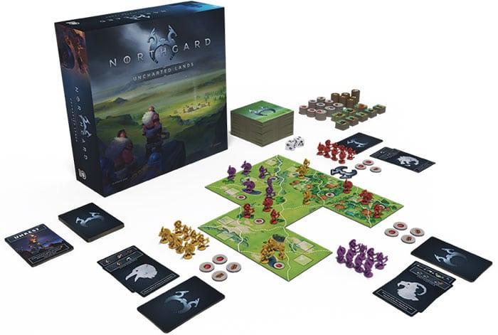 Plateau de jeu Northgard Uncharted Lands