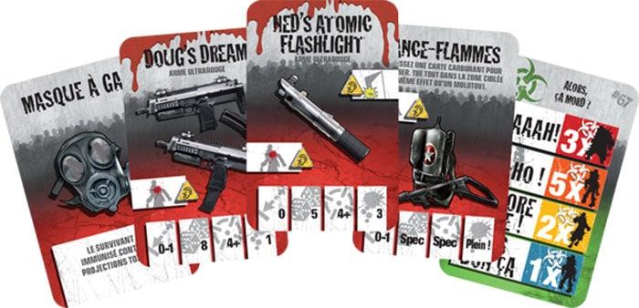 Armes Zombicide