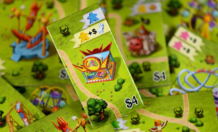Tuile attraction Meeple Land