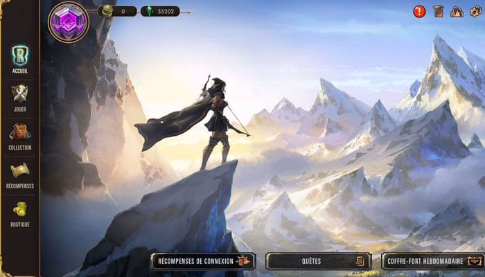 Style de jeu Legends of Runeterra
