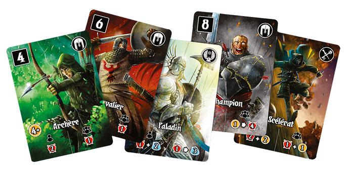 Cartes Valeria le Royaume